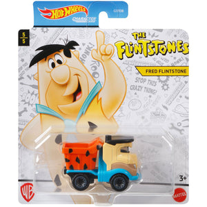 Hot Wheels Fred Flintstone Die Cast Car