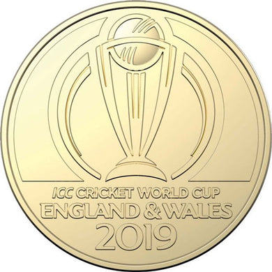 2019 $1 ICC Cricket World Cup Al-Br Unc