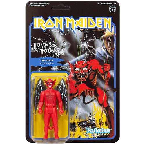 Iron Maiden Number of the Beast 3 3/4-Inch ReAction Figure