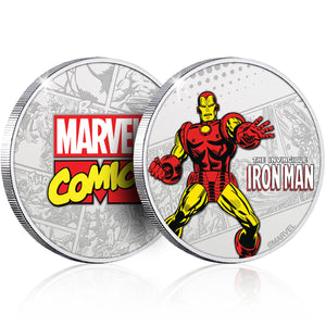 Marvel Ironman Silver Plated Collector Medal