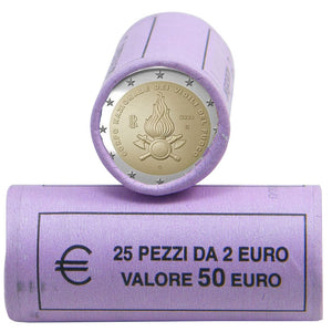 2020 Italy 2€ Fire Brigade Bank Roll