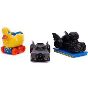 Batman Returns Hollywood Rides - Nano Die Cast Vehicle 3-pack