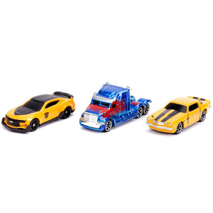 Transformers Movies Hollywood Rides - Nano Die Cast Vehicle 3-pack