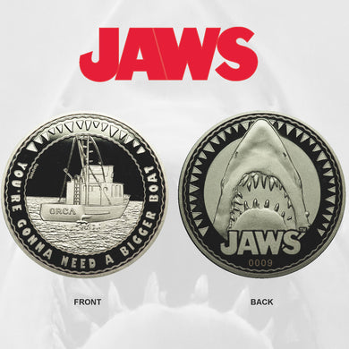 Jaws Limited Edition Collector Medal