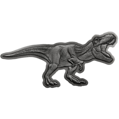2021 Niue $5 Jurassic World T-Rex 2oz Silver Coin