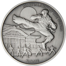 2020 Niue $5 Martial Arts - Karate 2oz Silver Coin
