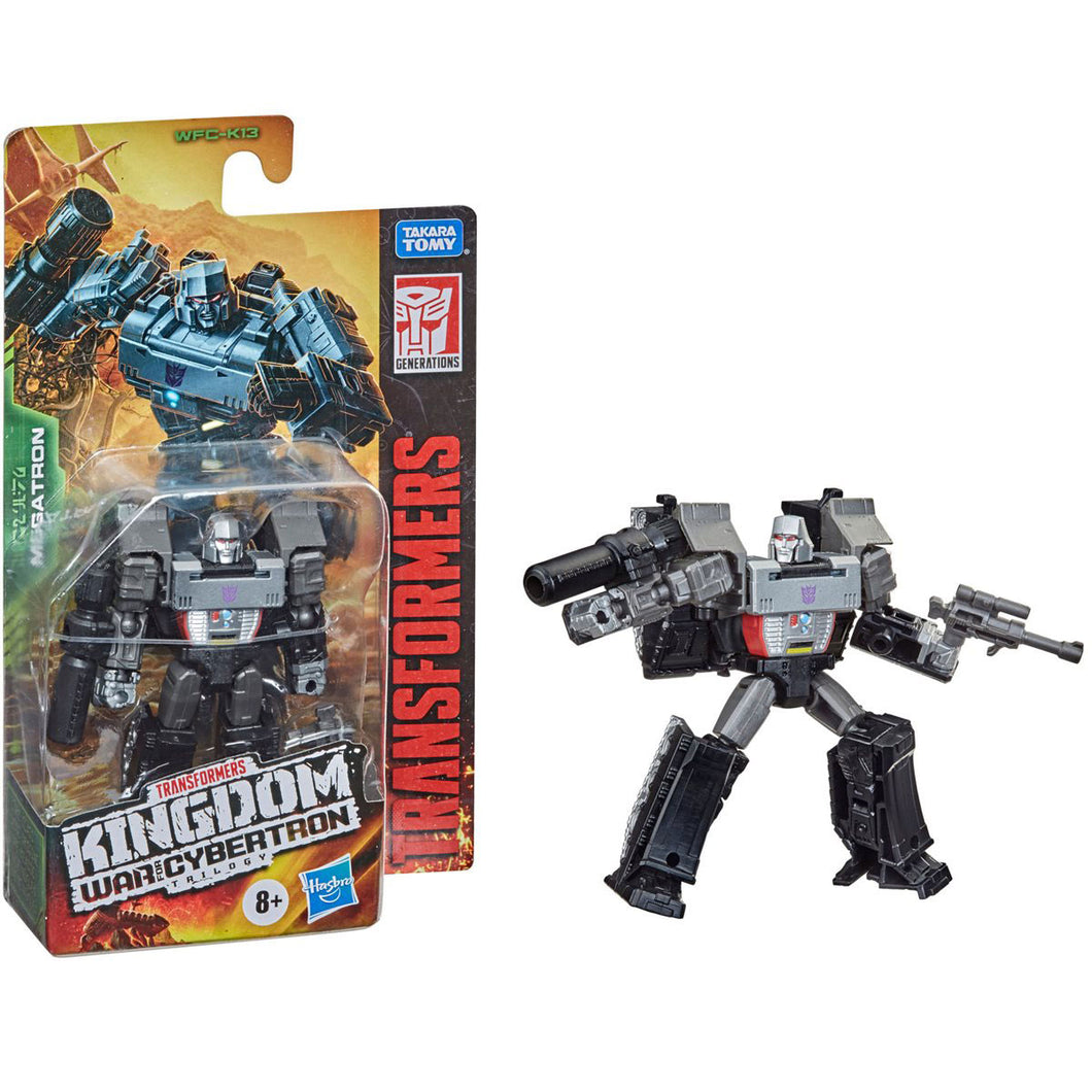 Transformers Generations Kingdom Core Megatron 3 Inch Action Figure