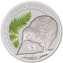 2015 NZ $1 Kiwi Treasures 1oz Silver Specimen Coin