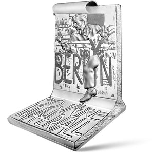 2019 France 10€ Berlin Wall Silver Proof