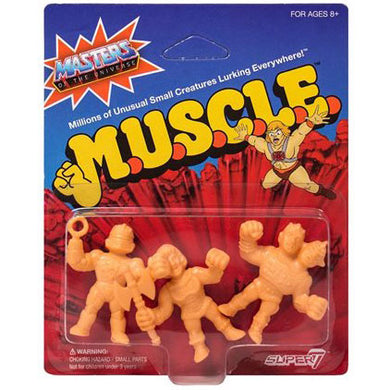 Masters of the Universe M.U.S.C.L.E. Mini Action Figure Pack B