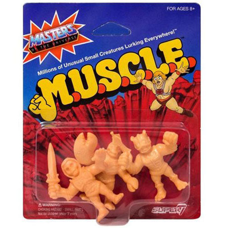 Masters of the Universe M.U.S.C.L.E. Mini Action Figure Pack A
