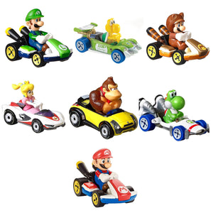 Hot Wheels Mario Kart Die Cast Collectable Car Collection