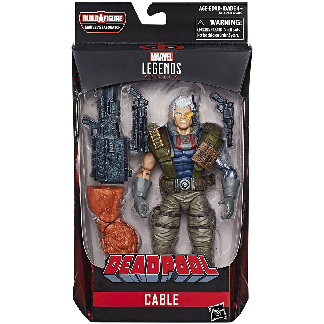 Marvel Deadpool Legends 6 inch - Cable Action Figure