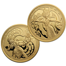 2019 NZ $10 Maui and the Goddess of Fire Gold Proof coin set