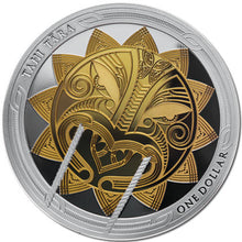 2018 NZ $1 Maui and the Sun 1oz Silver Proof Pair