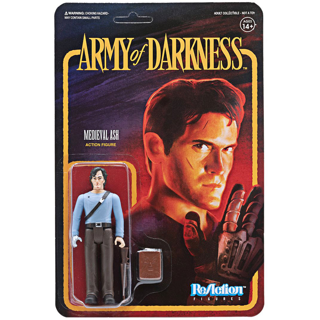 Army of Darkness Medieval Ash ReAction Figure