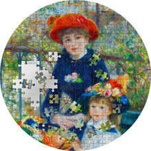 2020 Palau $20 Two Sisters - Renoir Micropuzzle 3oz Silver Coin