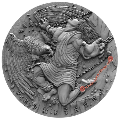 2019 Niue $5 Prometheus 2oz Silver Coin