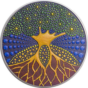 2020 Palau $20 Tree of Life 3oz Silver Coin