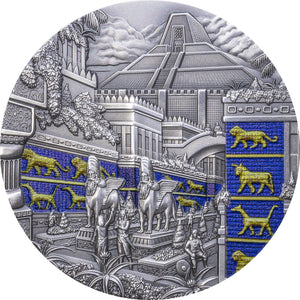 2021 Palau $10 Lost Civilizations – Babylon 2oz Silver Coin