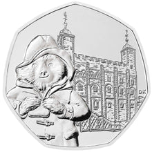 2019 UK 50p Paddington Tower of London BU Coin