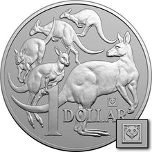 2019 $1 Mob of 'Roos Panda Privy 1oz Silver BU