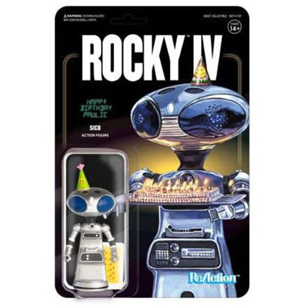 Rocky IV Paulie's Robot 3.75 ReAction Figure