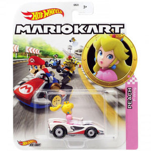 Hot Wheels Mario Kart - Peach Die Cast Collectable Car