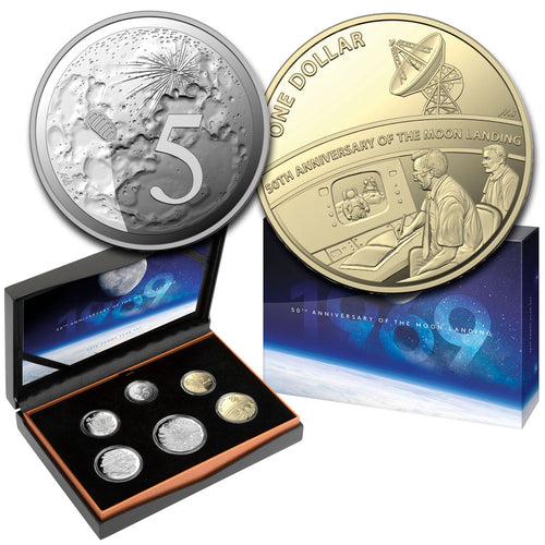 2019 Proof Coin Set – Moon Landing