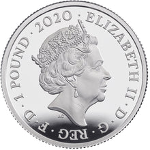 2020 UK £1 Music Legends - Queen 1/2oz Silver Proof