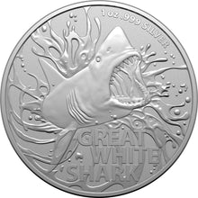 2020 $1 Great White Shark 1oz BU