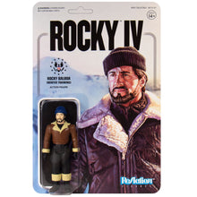Rocky IV Rocky Balboa Winter Training 3 3/4-Inch ReAction Figure