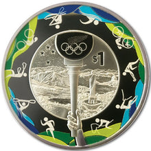 2016 NZ $1 Road to Rio 1oz Silver Proof Coin