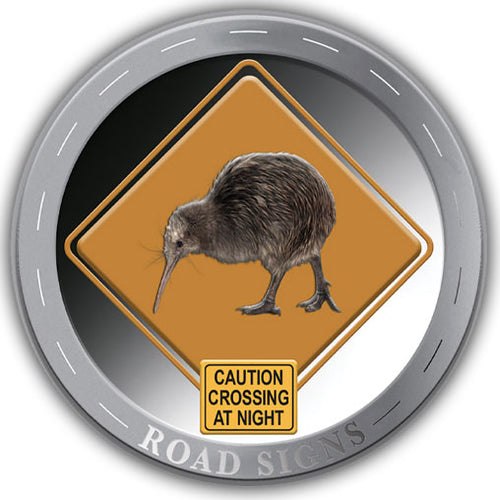 2020 NZ Roadsigns 1/2oz Silver Proof Medallion Set