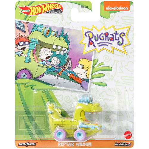 Hot Wheels Rugrats Reptar Car Die Cast Car