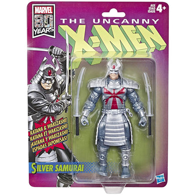Marvel Legends X-Men Retro Silver Samurai 6-Inch Action Figure