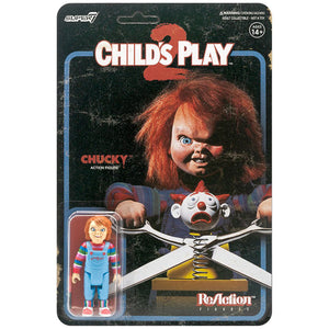 Child's Play Evil Chucky 3 3/4-Inch ReAction Figure