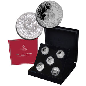 Complete 2018-2020 Niue $1 Trade Dollar 1oz Silver Proof Collection