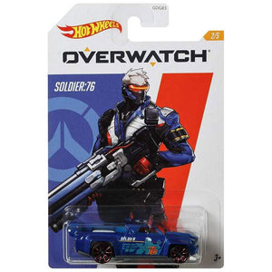 Hot Wheels Overwatch - Soldier: 76 Die Cast Collectable Car