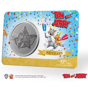 2020 Tom and Jerry 80th Anniversary CuNi Medal