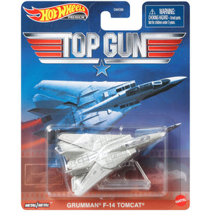 Hot Wheels Top Gun Grumman F-14 Tomcat Die Cast Car