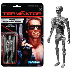 Terminator - T-800 Endoskeleton Chrome ReAction Figure
