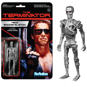 Terminator - T-800 Endoskeleton ReAction Figure