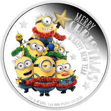 2018 Niue $2 Minions Christmas 1oz Silver Proof Coin