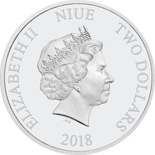 2018 Niue $1 Woody 1oz Silver Proof
