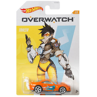 Hot Wheels Overwatch - Tracer Die Cast Collectable Car