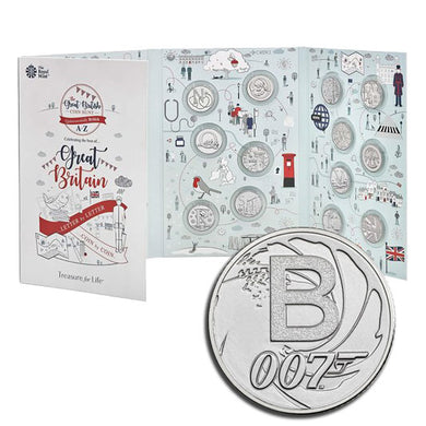 2019 UK 10p A-Z 26-coin Set in Album