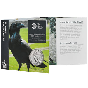 2019 UK £5 Tower of London - Ravens BU