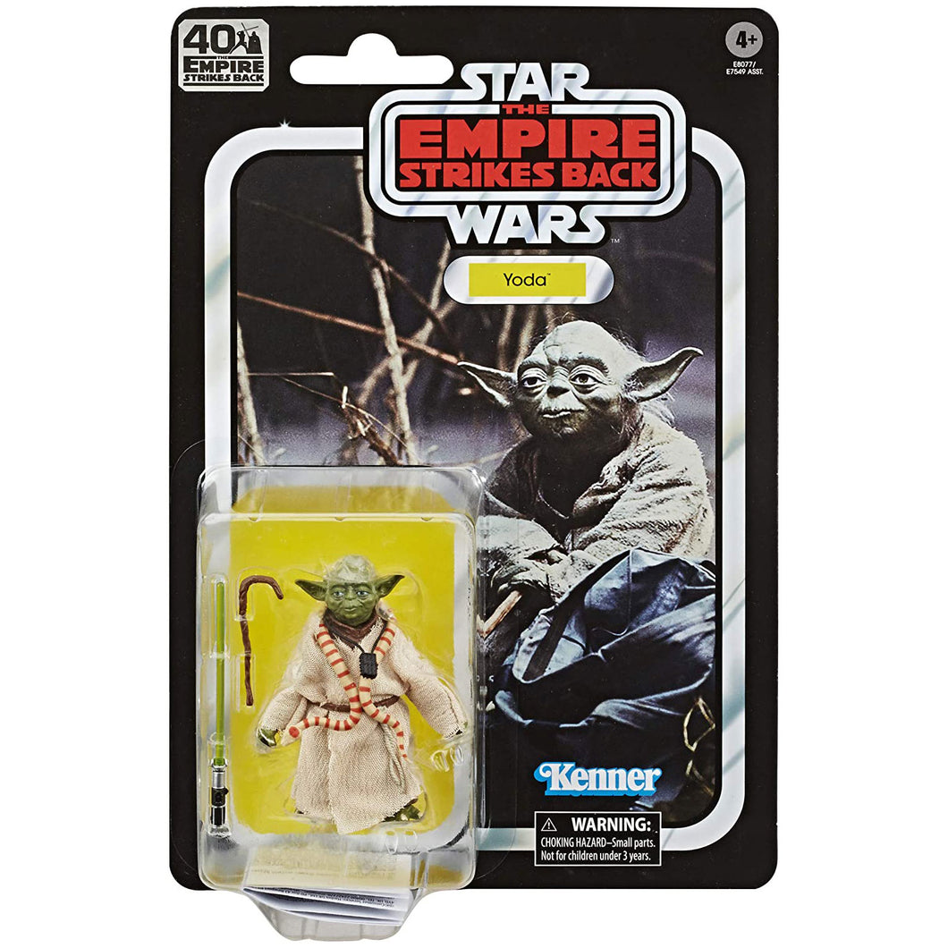 Star Wars Black Series 40th Ann. Empire Strikes Back - Yoda Action Figure