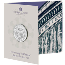 2021 UK £5 Royal Albert Hall BU